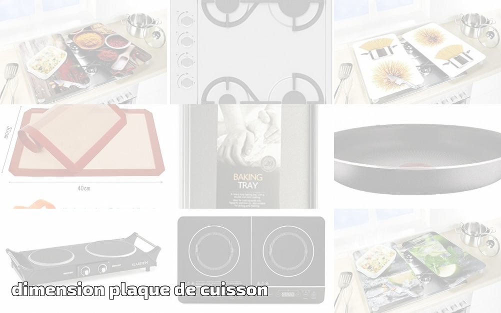 dimension plaque de cuisson pour 2019 le comparatif. Black Bedroom Furniture Sets. Home Design Ideas