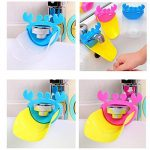 Inchant 3-Set Baby Enfants Bathroom Sink Faucet Extender Chute Forme de Crabe Kawaii Sink Poignée Extender pour Les Enfants, Les Enfants, Les Tout-Petits, sans BPA de la marque Inchant image 3 produit
