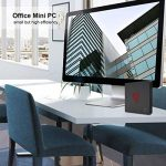 M2 Mini PC Licence Windows 10 Multimedia Office Ordinateur de Bureau 8 Go de RAM LPDDR4 128 Go SSD M.2 Intel Apollo Lake Pentium Silver J4205 HDMI 4K Display VESA Mount, Dual WiFi de la marque Beelink image 3 produit